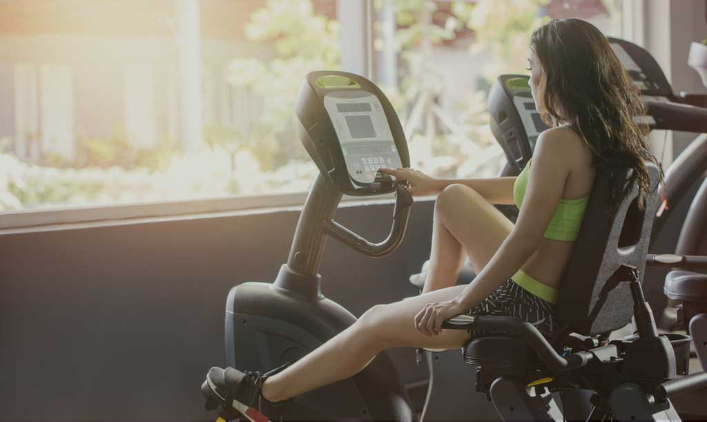 Girls OnRecumbent Exercise Bikes With Moving Arms Reviews